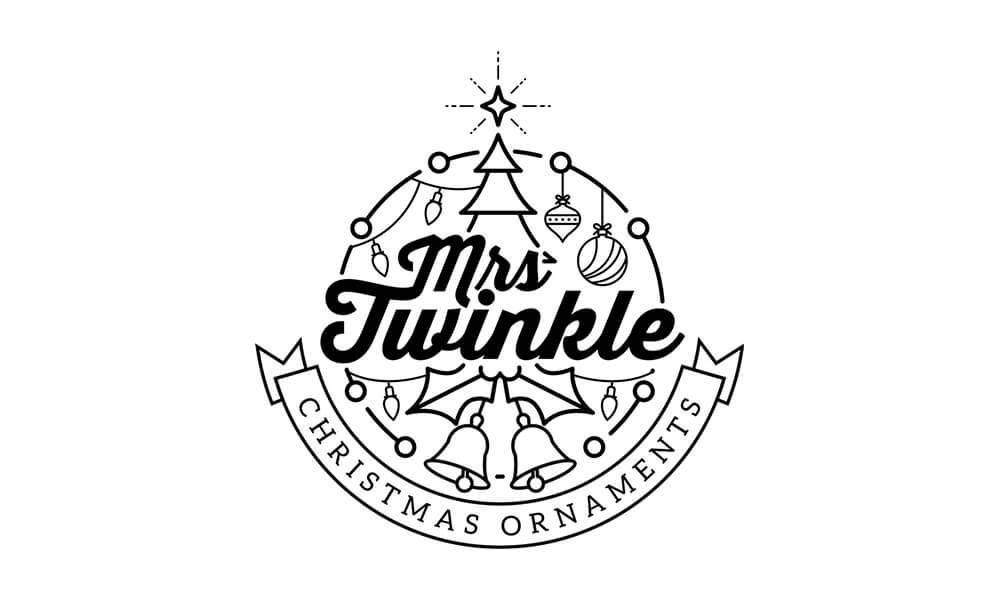 Mrs. Twinkle Christmas Ornaments